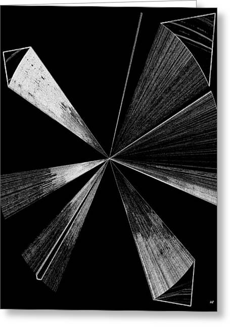 Transmitter Greeting Cards - Antenna- Black And White  Greeting Card by Will Borden