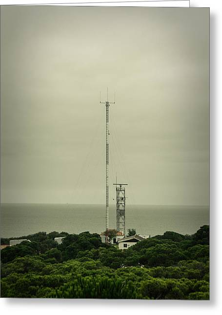 Broadcast Antenna Greeting Cards - Antenna Greeting Card by Marco Oliveira