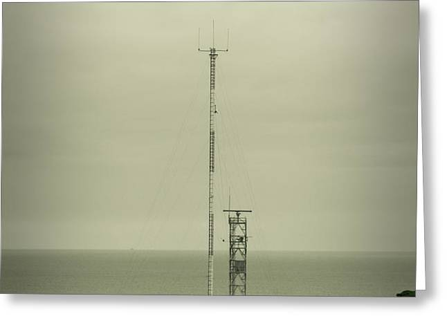 Antenna Greeting Card by Marco Oliveira