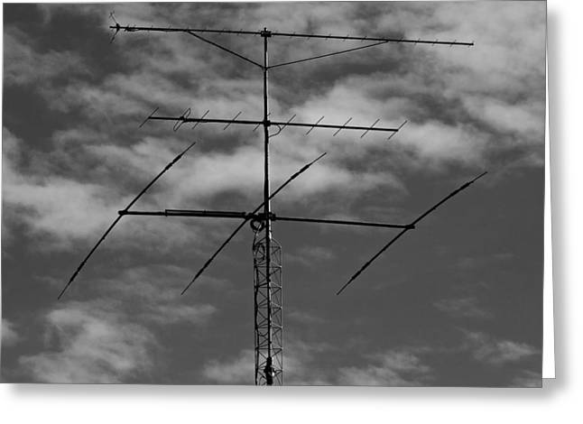 Broadcast Antenna Greeting Cards - Antenna Greeting Card by Mountain Dreams