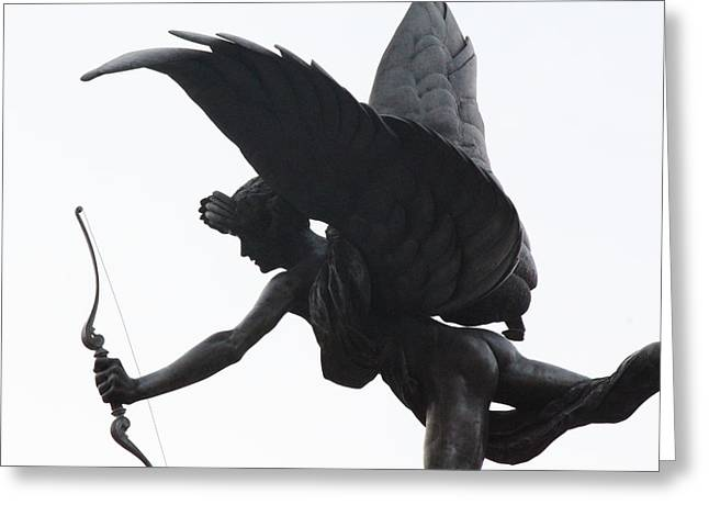 Erotes Greeting Cards - Anteros Greeting Card by Nicholas Miller