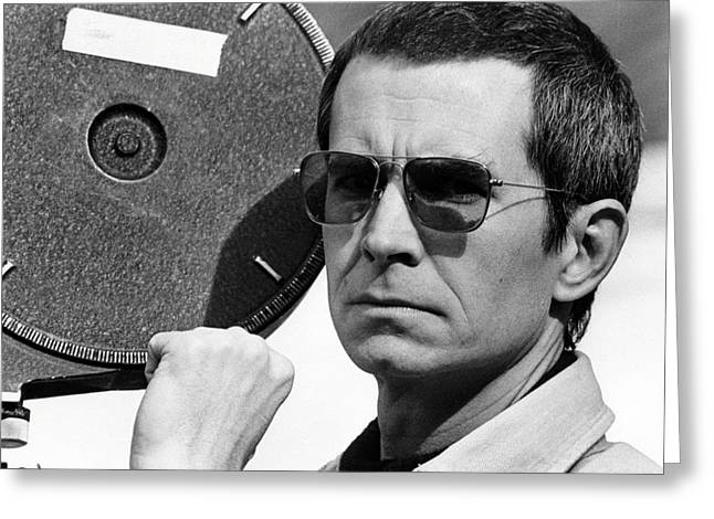 Anthony Perkins In Mahogany  Greeting Card by Silver Screen