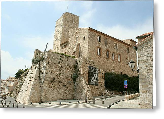 Picaso Greeting Cards - Antibes - Picasso Museum Greeting Card by Christiane Schulze Art And Photography