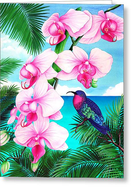 Watercolour Photographs Greeting Cards - Anticipation Greeting Card by Carolyn Steele