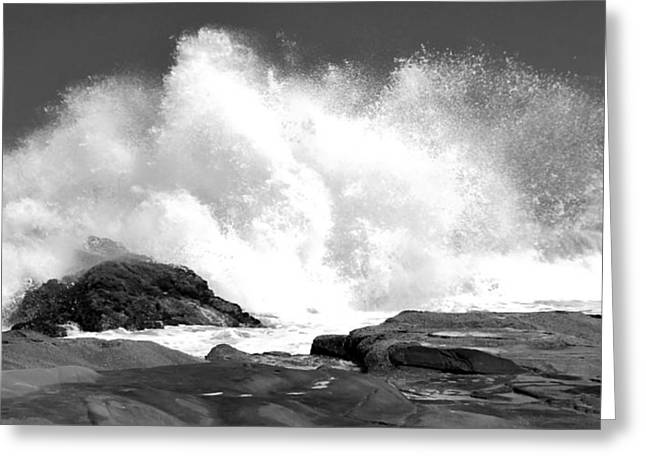 Surf Silhouette Digital Art Greeting Cards - Anticipation Greeting Card by Simon Northcott