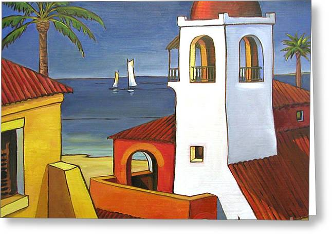 Antigua Greeting Cards - Antigua II Greeting Card by Paul Brent