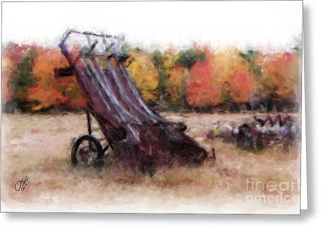 Brunswick Greeting Cards - Antique Autumn 1067 20141003 Greeting Card by Julie Knapp