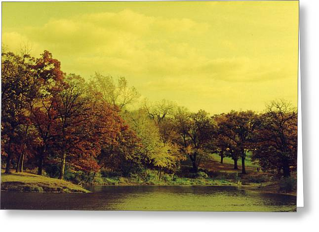 Julia Bowman Greeting Cards - Antique Autumn Greeting Card by Julia and David Bowman