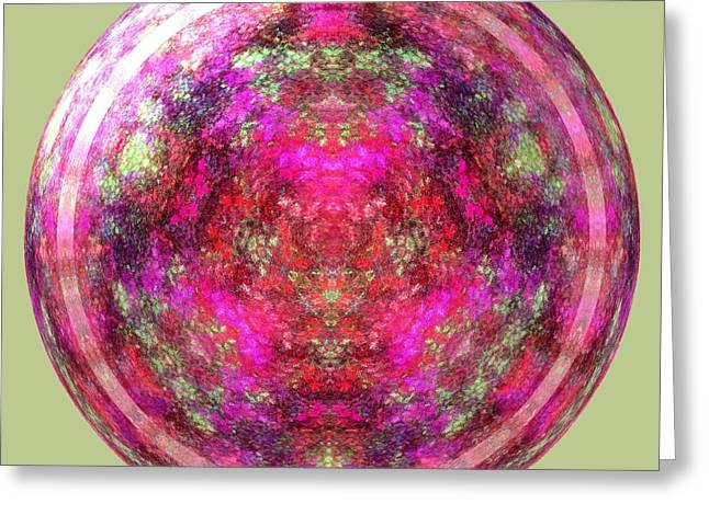Paper Weight Greeting Cards - Antique Blown Glass Paperweight Greeting Card by Renee Trenholm