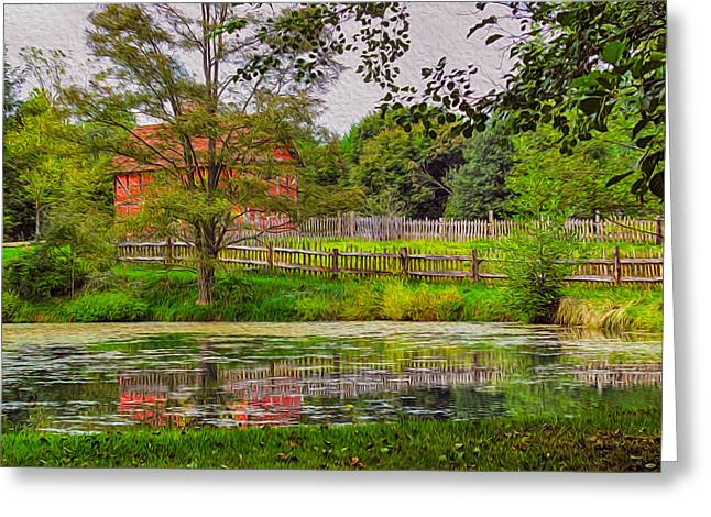 Owfotografik Photographs Greeting Cards - Antique Reflections Greeting Card by Omaste Witkowski