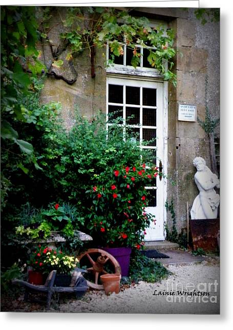 Lainie Wrightson Greeting Cards - Antique Shop Greeting Card by Lainie Wrightson