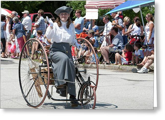 Antique Tricycle Greeting Card by Jim West