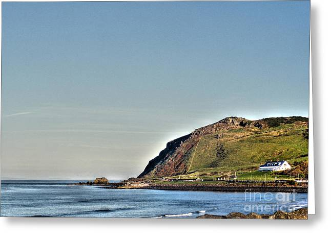 Natural Realm Greeting Cards - Antrim Coast Road Greeting Card by Nina Ficur Feenan