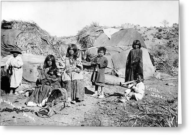 Apache Group, C1909 Greeting Card by Granger