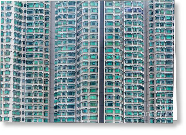 Belongings Greeting Cards - Apartment  Greeting Card by Niphon Chanthana