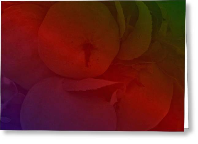 Lebensmittel Greeting Cards - Apfel Greeting Card by Klaas Hartz
