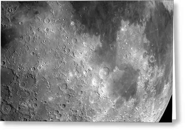 Apollo 11 Landing Site Greeting Card by Detlev Van Ravenswaay