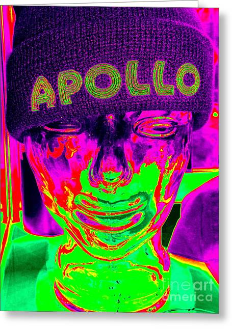 Apollo Abstract Greeting Card by Ed Weidman