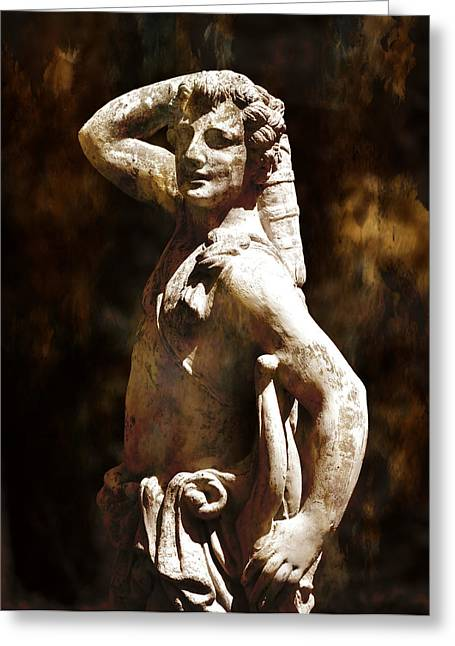 Greek Sculpture Greeting Cards - Apollo Greeting Card by Deena Stoddard