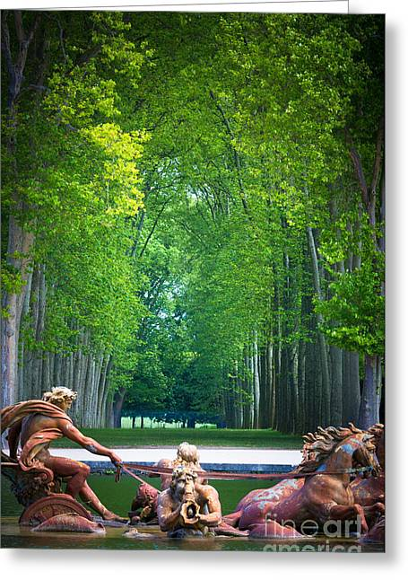 Sculptures Sculptures Greeting Cards - Apollo Fountain Greeting Card by Inge Johnsson