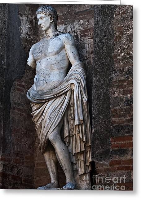 Naples Greeting Cards - Apollo Greeting Card by Marion Galt