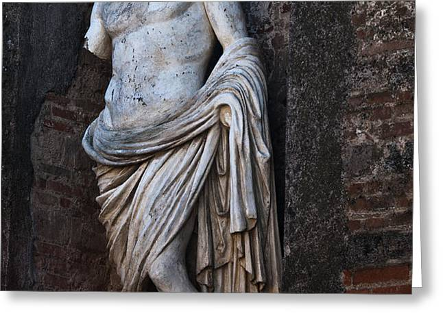 Apollo Greeting Card by Marion Galt
