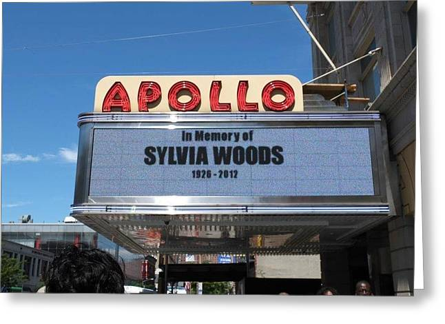 Apollo Theater Greeting Card by Gail Starr
