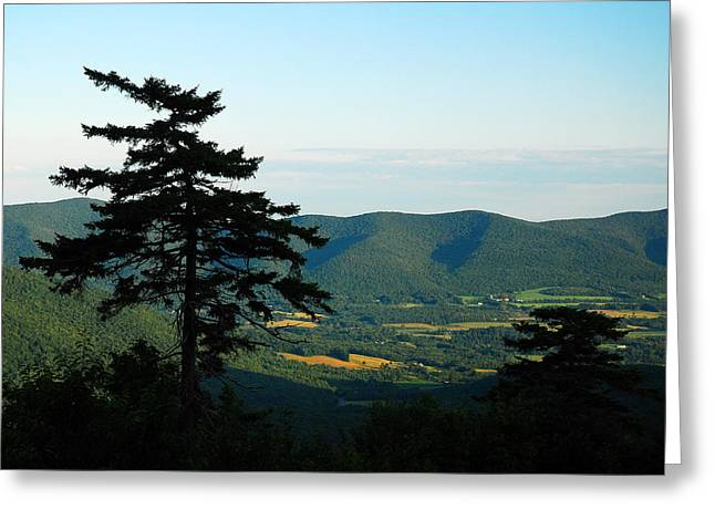 Berkshires Of New England Greeting Cards - Appalachian Landscape Greeting Card by James Kirkikis