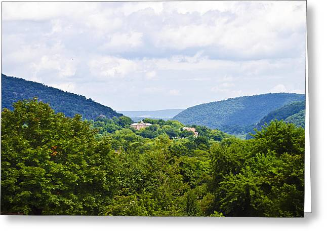 Harpers Ferry Digital Greeting Cards - Appalachian Mountains West Virginia Greeting Card by Bill Cannon