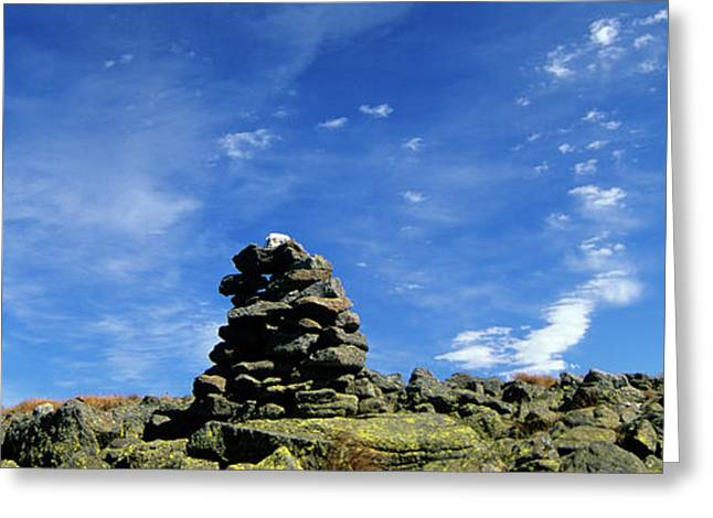 Gulfside Greeting Cards - Appalachian Trail - White Mountains New Hampshire Greeting Card by Erin Paul Donovan