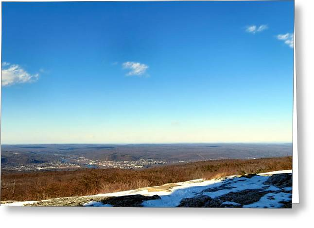 Skiing Posters Photographs Greeting Cards - Appalacian Mountains Greeting Card by Michelle Milano