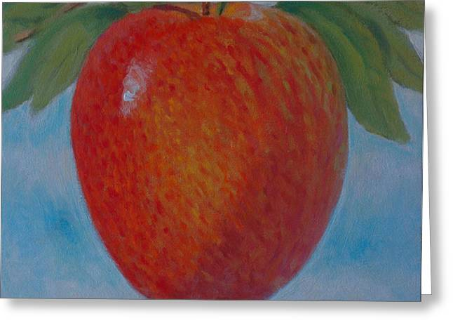 Apple 1 in a series of 3 Greeting Card by Don Young