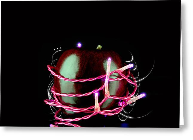 Electric Current Greeting Cards - Apple fantasy Greeting Card by Toppart Sweden