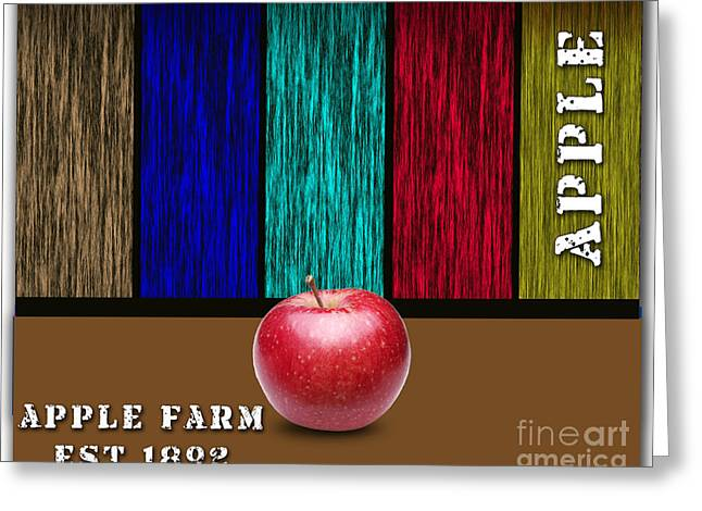 Apple Greeting Cards - Apple Greeting Card by Marvin Blaine