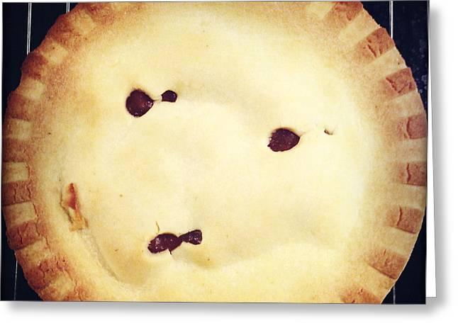 Apple Pie Greeting Cards - Apple pie Greeting Card by Les Cunliffe
