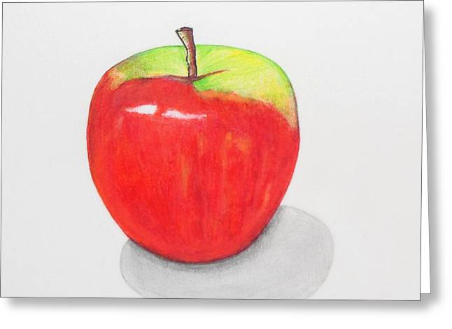 Apple Records Greeting Cards - Apple1 Greeting Card by Kenneth A Mc Williams