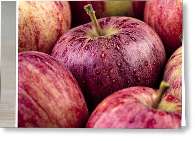 Apple Photographs Greeting Cards - Apples 02 Greeting Card by Nailia Schwarz