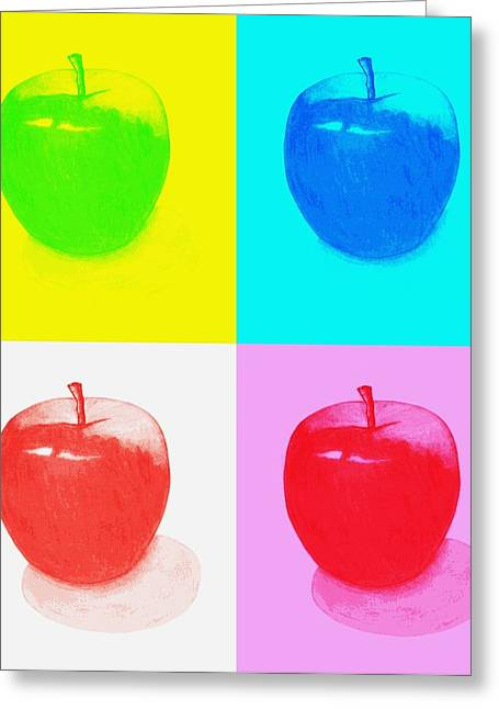 Apple Records Greeting Cards - Apples2 Greeting Card by Kenneth A Mc Williams
