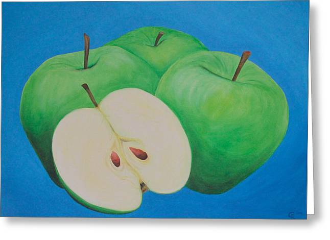 Fruehling Greeting Cards - Apples Greeting Card by Sven Fischer