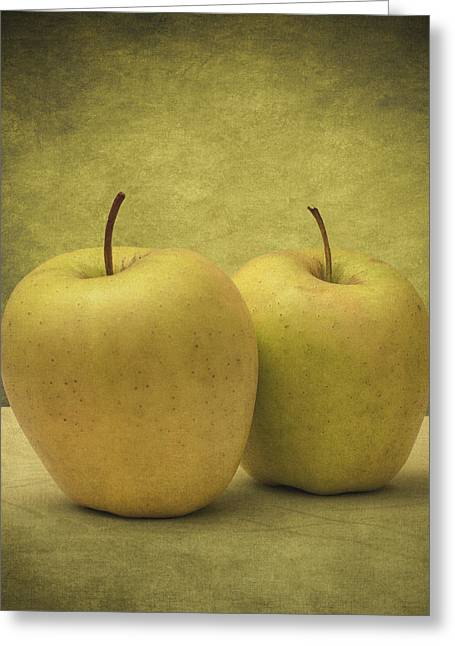 Reflection Harvest Greeting Cards - Apples Greeting Card by Taylan Soyturk