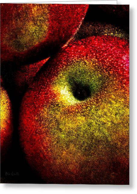 Pie Greeting Cards - Apples Two Greeting Card by Bob Orsillo