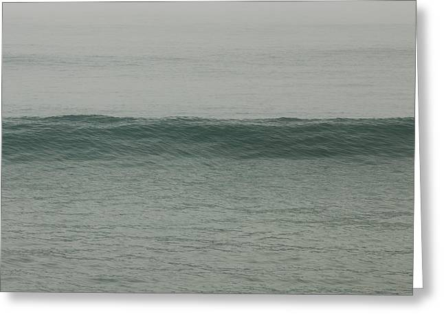 Abstract Waves Greeting Cards - Approaching Greeting Card by Ana V  Ramirez