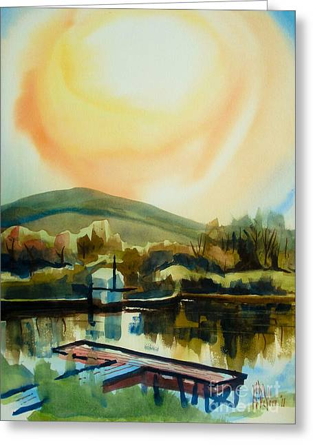 Approaching Dusk Ib Greeting Card by Kip DeVore