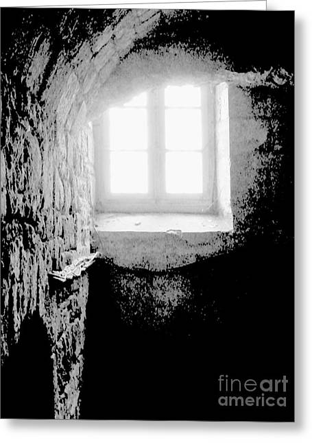 Dungeons Greeting Cards - Approaching Redemption Greeting Card by Newel Hunter