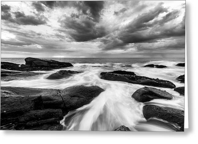 Tony Murray Greeting Cards - Approaching Storms Greeting Card by Tony Murray