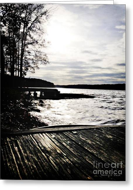 Bryant Greeting Cards - Approaching Sunset Greeting Card by Nancy E Stein