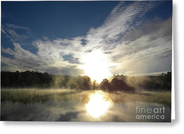 Window Of Life Greeting Cards - Glorious Morning Greeting Card by Matthew Seufer