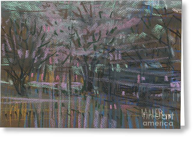 Spring Pastels Greeting Cards - April First Greeting Card by Donald Maier