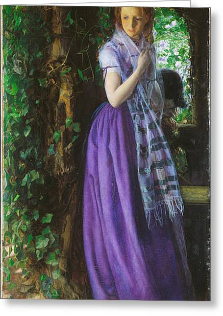 Victorian Aesthetic Greeting Cards - April Love Greeting Card by Philip Ralley