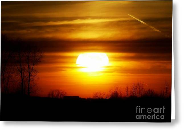 Awsome Greeting Cards - April Sky 22 Greeting Card by Scott B Bennett